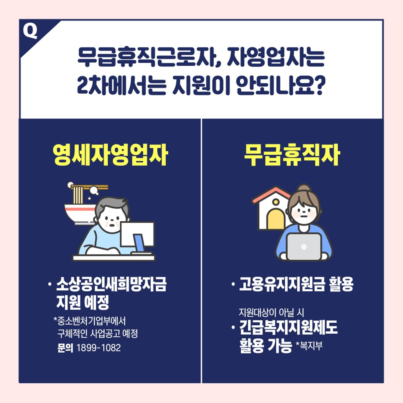 [Q&A] 2차 긴급고용안정지원금, 신규로 지원받는 사람은?