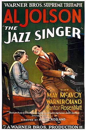 최초의 토키영화 <재즈 싱어> (포스터 출처=KMDb 한국영화데이터베이스 http://www.kmdb.or.kr)