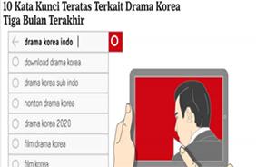 """인도네시아 유력지 """"한국 드라마 코로나19 기간에 더욱 인기"""""""