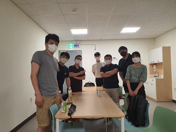 닥클 프로젝트에 참여한 자원봉사자들. (사진=국군의무사령부)
