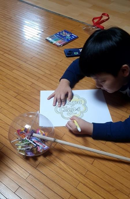 이번 추석은 연휴 대신 아이와 집에서 다양한 놀이를 함께 진행했다.