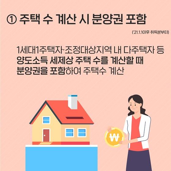 달라진 부동산 3법 중 양도소득세법