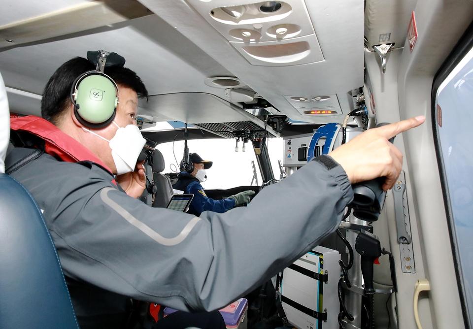 불법외국어선 현장점검(해양주권 수호의지)