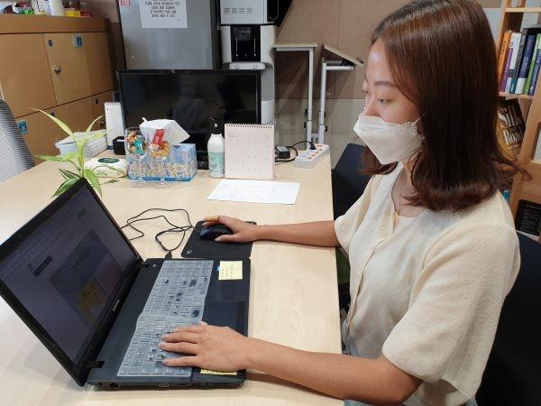 김주희 대표는 컨설팅을 받으면서 실무에 도움이 많이 되었다.