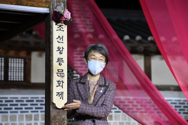 지난 16일 동구릉에서 열린 조선왕릉문화제 개막식 현장(출처=문화재청).