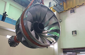 일본·유럽 제품 쓰던 수력발전 핵심 부품 '러너'…국산화 성공