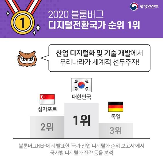 세계에서 대한민국이 1등 하는 것! 대한민국 디지털정부