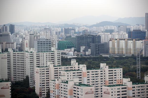서울 목동 일대 아파트 단지 모습. (사진=저작권자(c) 연합뉴스, 무단 전재-재배포 금지)