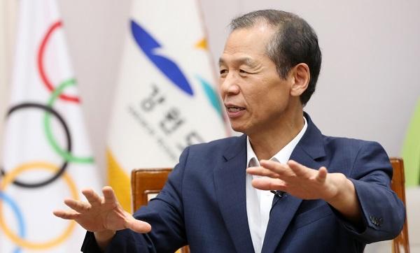 """[지역균형 뉴딜]  최문순 강원지사 """"친환경 수소에너지 선도지역으로 발전"""""""