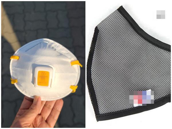 식품의약품안전처에서 '의약외품'으로 허가한 마스크가 아닌 밸브형 마스크와 망사 마스크는 마스크 착용으로 인정하지 않는다.
