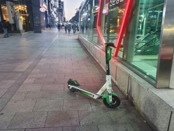 도로교통법 개정 앞둔 전동킥보드 체험기