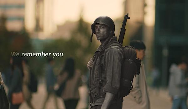 미국 뉴욕 타임스퀘어 , 영국, 태국 등 주요 건물 대형 전광판을 통해 유엔참전용사 감사 영상이 흐를 예정이다. <출처=국가보훈처>