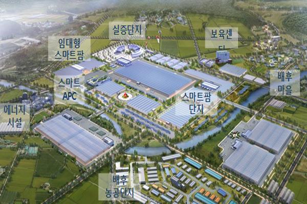 스마트팜 혁신밸리에 조성될 시설현대화 예상 모습. (사진=농림축산식품부)