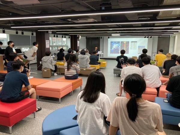 이노베이션 아카데미 교육장면.