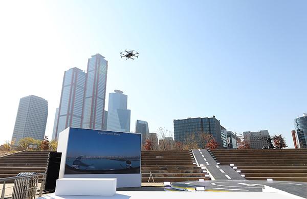 서울 하늘에 드론택시 날다…K-드론관제시스템 실증행사