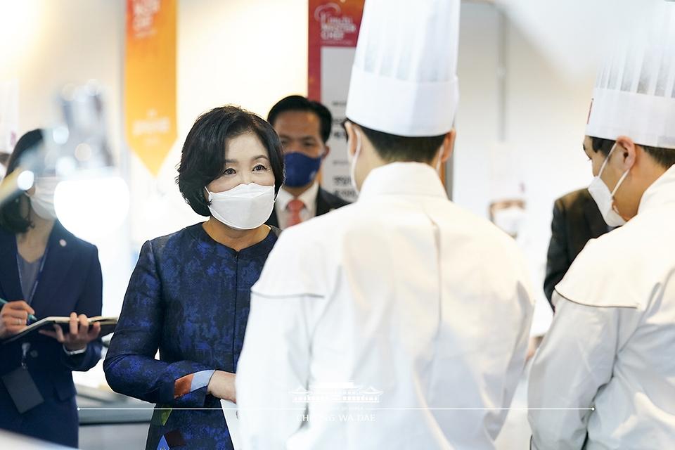 '김치 마스터 셰프 선발대회' 깜짝방문