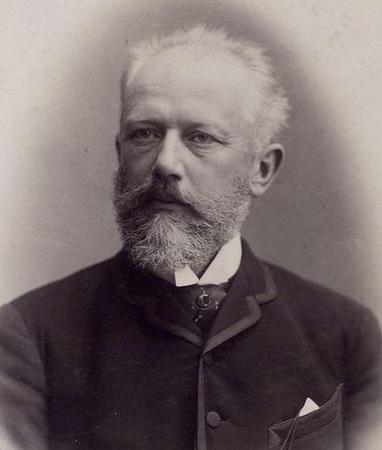 1888년, 48세의 차이콥스키.