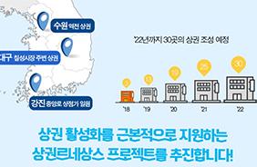 풀뿌리 상권 살린다…'상권 르네상스' 4차 대상지 8곳 선정