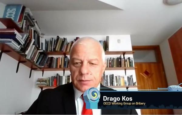 드라고 코스 OECD 뇌물방지작업반 의장(출처=IACC 누리집)