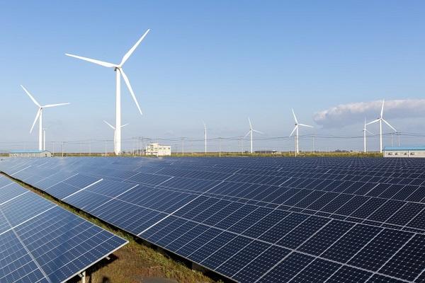 재생에너지 발전소 모습.(사진=산업부)