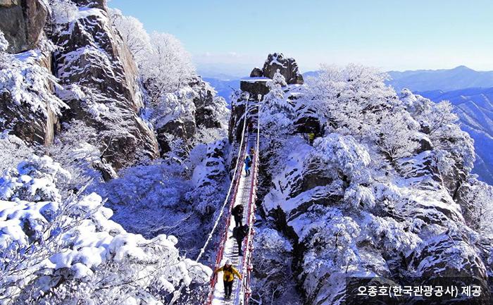 대둔산의 겨울을 걷다 - 오종호(한국관광고사) 제공