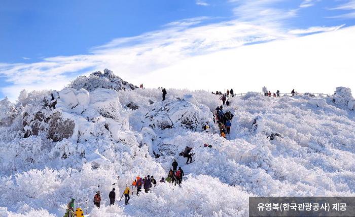겨울 풍경이 아름다운 덕유산 산행길 - 유영복(한국관광공사) 제공