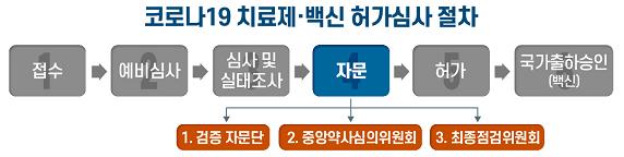 코로나19 치료제·백신 허가심사 절차