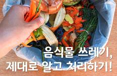 음식물 쓰레기, 제대로 알고 처리하기!