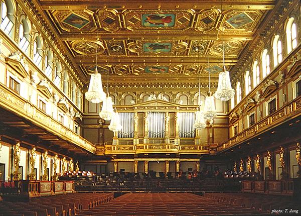 비엔나 신년음악회가 열리는 황금 홀.