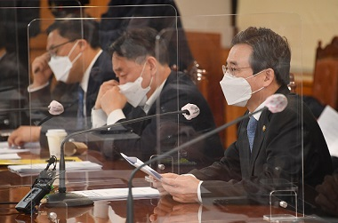 김용범 기획재정부 차관이 2일 서울 중구 은행회관에서 열린 '거시경제 금융회의'를 주재, 모두발언을 하고 있다. (사진=기획재정부)