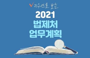 키워드로 보는 2021 법제처 업무계획  이미지