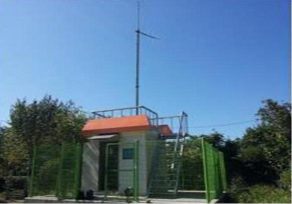 환경부 강수량관측소.