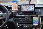 택시에 설치된 앱미터기