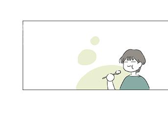 [웹툰] 춘곤증과 미세먼지, 봄나물로 이겨내요