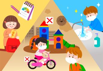 어린이 미세먼지 예방 수칙