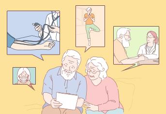 노인의 미세먼지 건강수칙