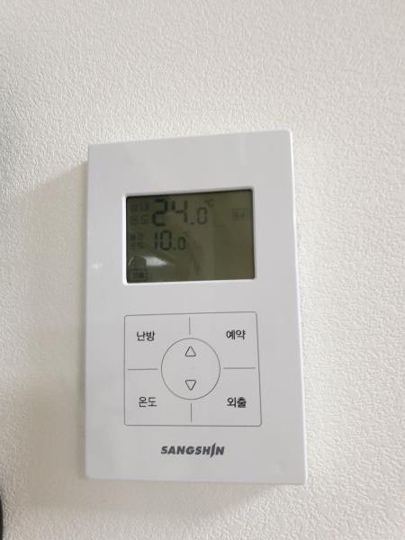실내 온도가 일정하게 유지된다.