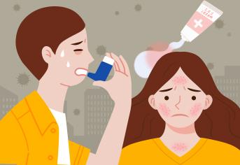 호흡기와 알레르기환자의 건강수칙