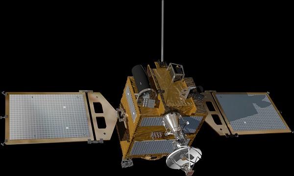 한국형 달 궤도선 본체 모습.