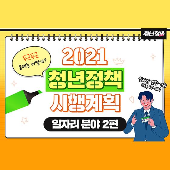 2021 청년정책 시행계획 - 일자리 분야 ②