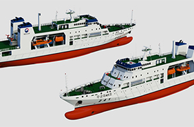 3000톤급 국가어업지도선 개념도.