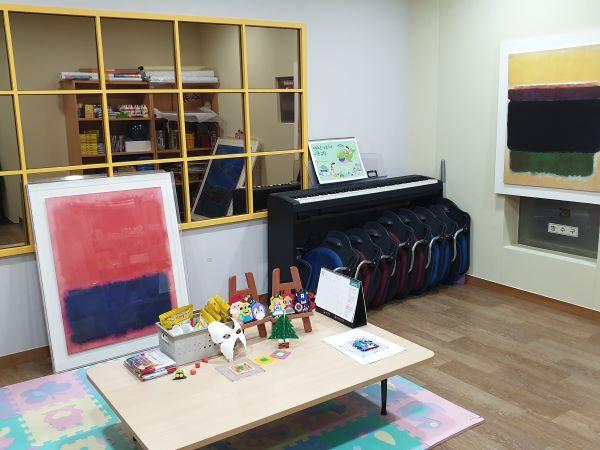센터 내 예술활동실이 있다.
