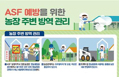 ASF 예방을 위한 농장 주변 방역 관리