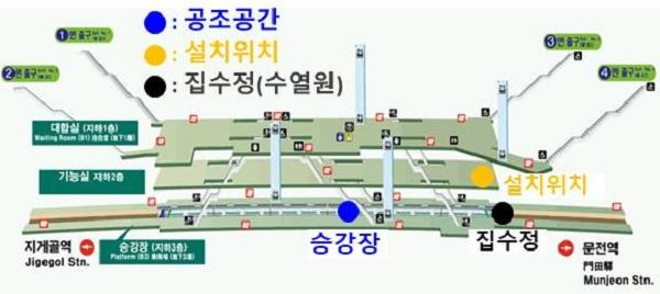유출지하수 활용 시범사업에 선정된 부산교통공사.