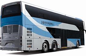 2층 전기버스 외관