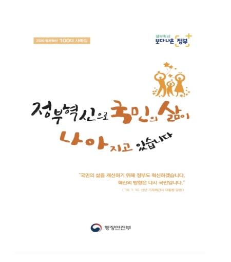 2020 정부혁신 100대 사례집 표지(출처=행정안전부)