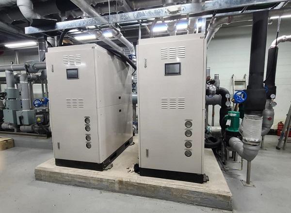 한강홍통 수열에너지 히트펌프시설.