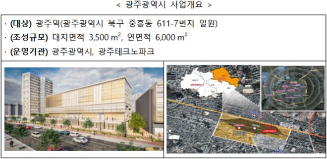 광주광역시 사업개요.