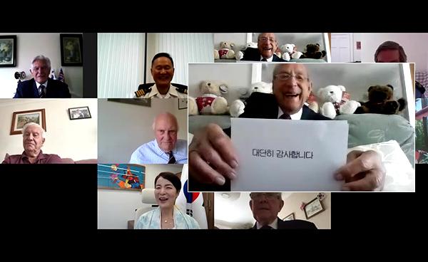 호주의 예비역 준장 콜린 칸 씨를 비롯해 세계 각국의 6·25 해외참전용사들로부터 감동을 담은 감사의 메시지가 전해졌다.(사진=외교부)