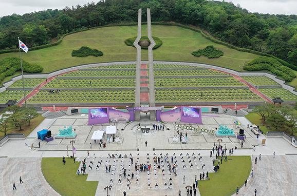 광주시 북구 국립 5·18 민주묘지. (사진=저작권자(c) 연합뉴스, 무단 전재-재배포 금지)
